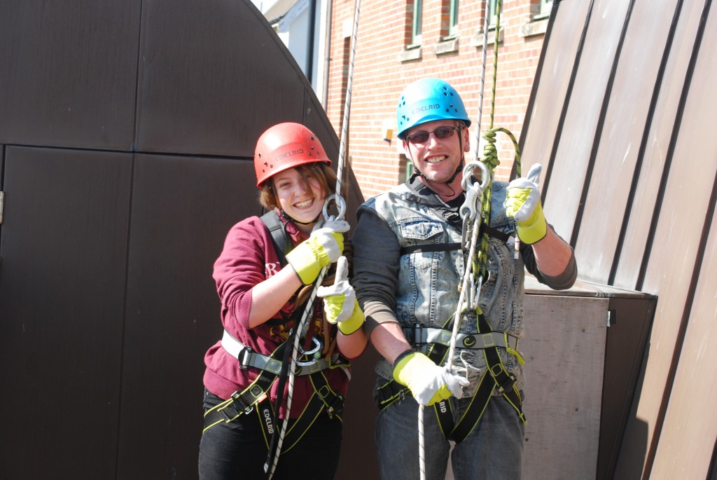 Friends of High Borrans Segedunum Abseil 2015